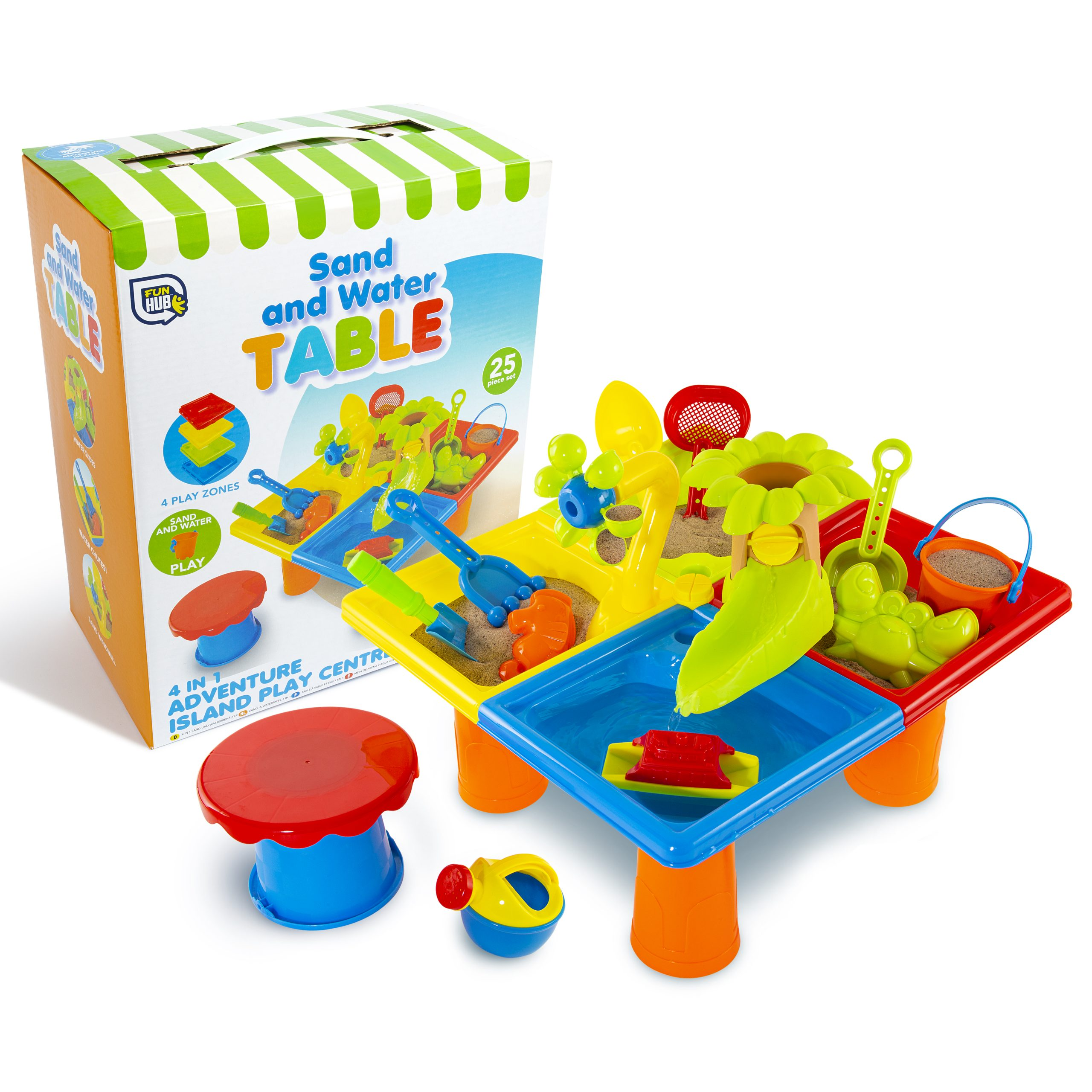 Sand and water table 25 piece