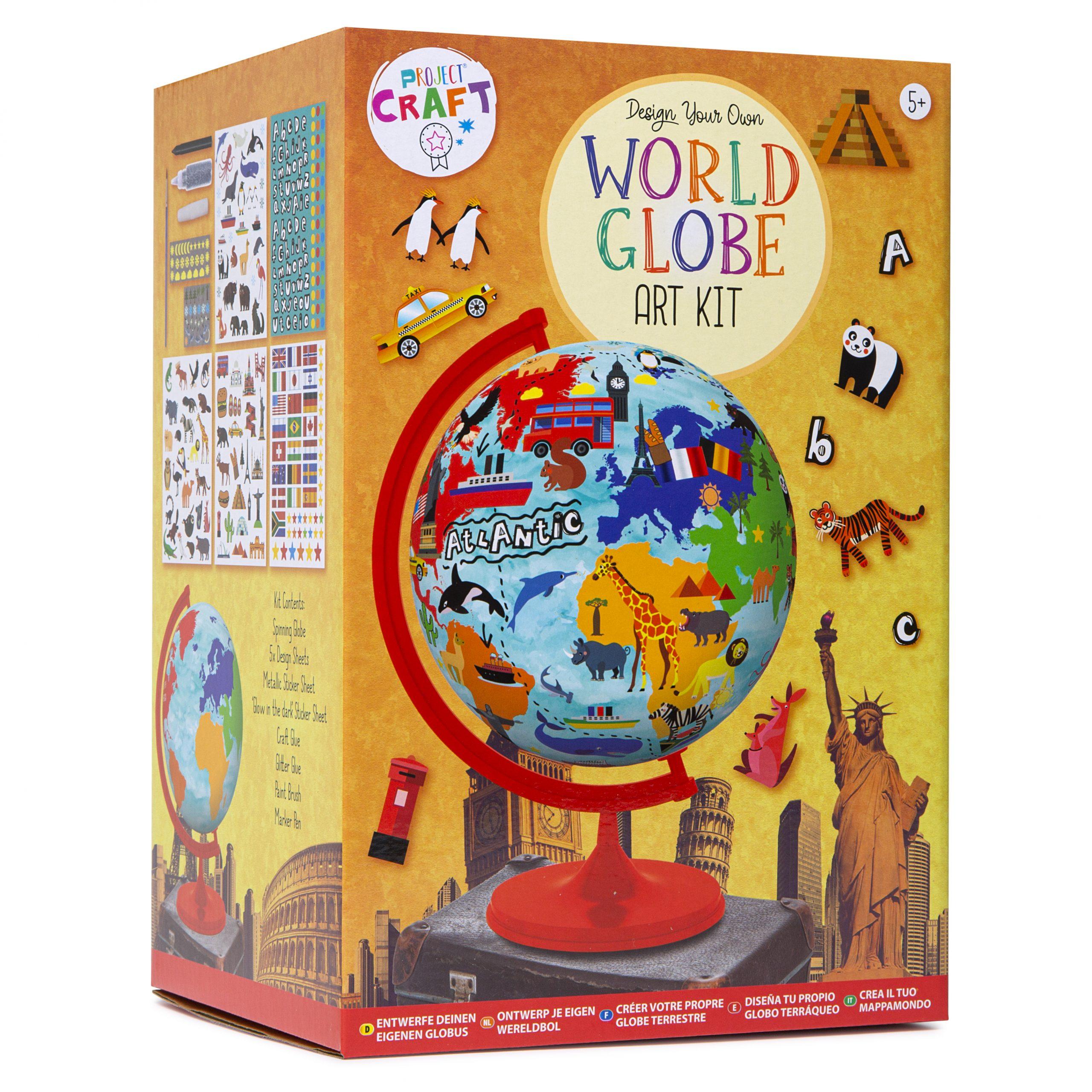 R03-0744 DYO World Globe Art Kit – Box