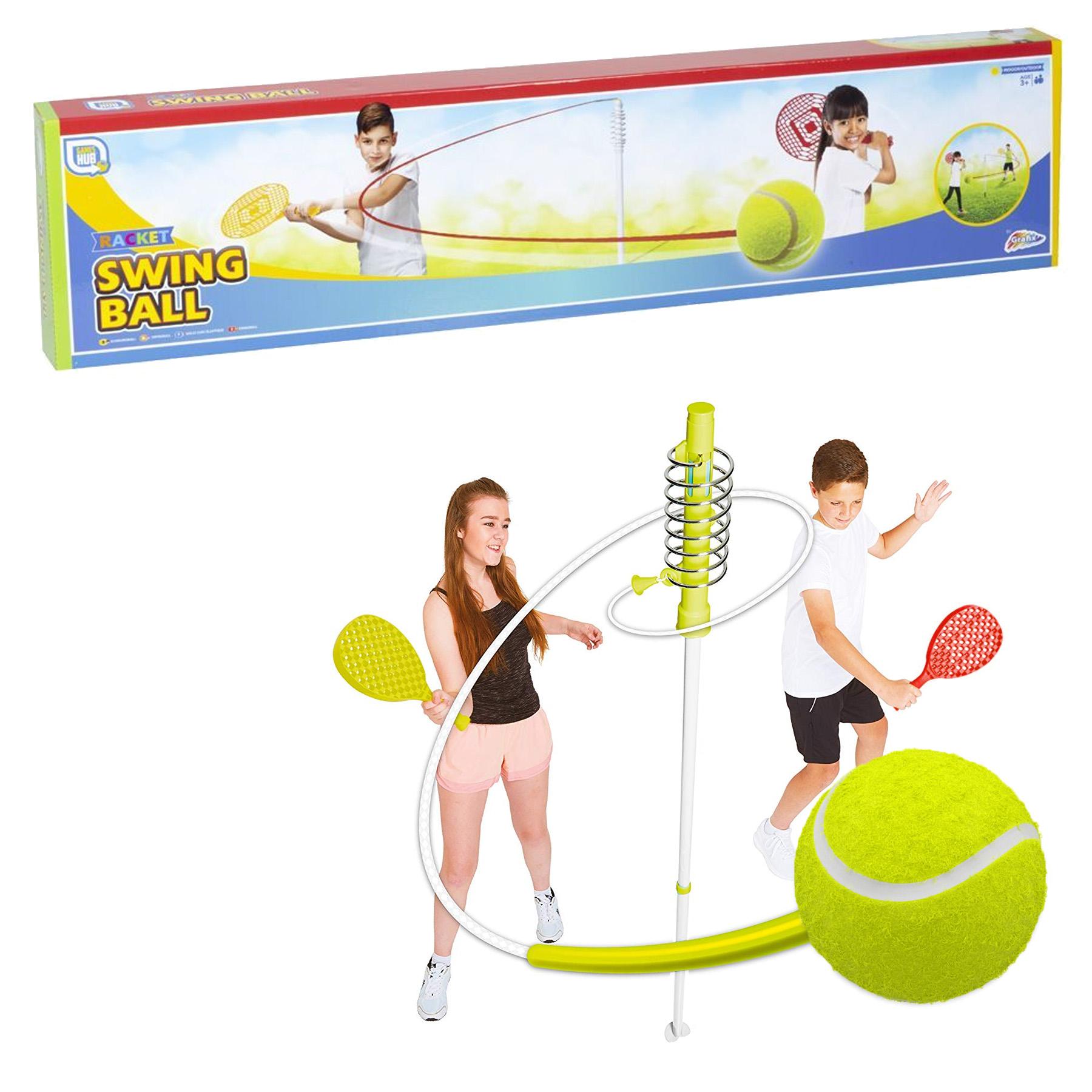 racket swing ball